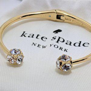 Kate Spade Gold Lady Marmalade Crystal Ball Bangle